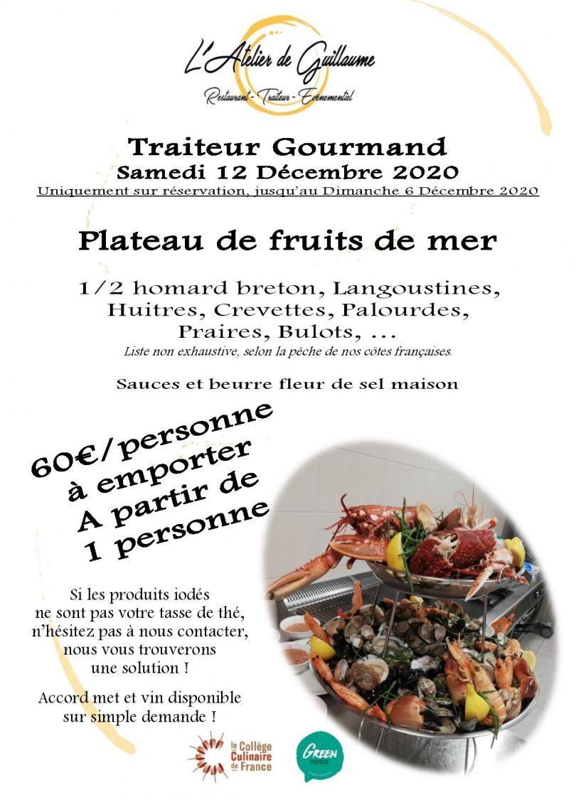Plat Gourmand Fruits de mer Samedi 12 Décembre-page-001