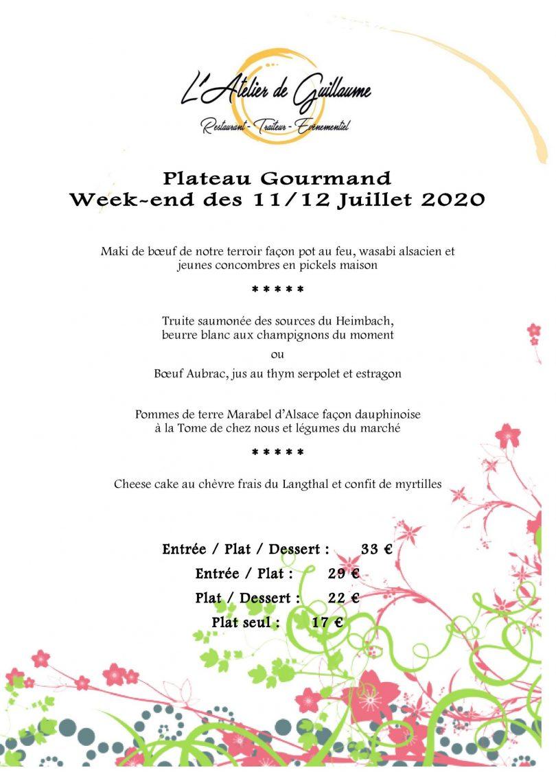 Plateau Gourmand Week-end du 12 Juillet-page-001