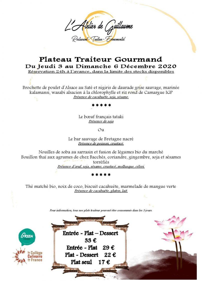 Plateau Gourmand du Jeudi 3 au Dimanche 6 Decembre-page-001